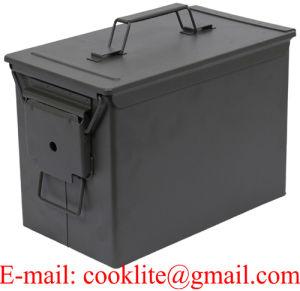 Kotak Besi Bekas Peluru Kotak Peluru Bekas Box Bekas Amunisi 50 Cal pictures & photos