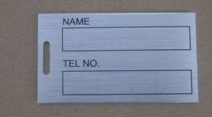 Matel Name Tag, Golf Accessory (AG-15) pictures & photos