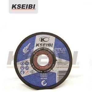 High Quality Kseibi Blue Depressed Centre Gringding Discs for Metal pictures & photos