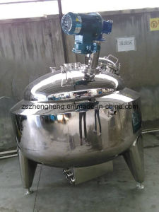 Stainless Steel Jacketed Mixing Kettle with Agitator pictures & photos