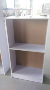 Wood 16mm Particle Board Bookshelf pictures & photos
