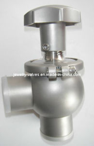 Handle Sanitary Satainless Steel Welded Control Valve