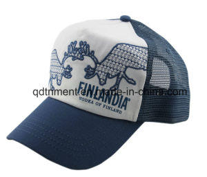 Top Quality Distressed Washed Snapback Sport Trucker Cap (TRT13006) pictures & photos