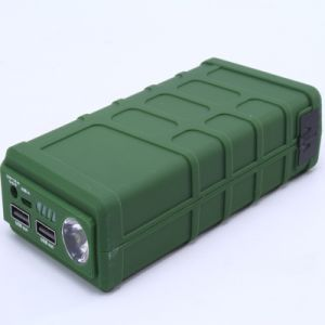 Multi-Function Rechargeable Car Power Bank with Two USB Output pictures & photos