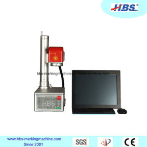 10W Small Size End Pump Laser Marking Machine pictures & photos