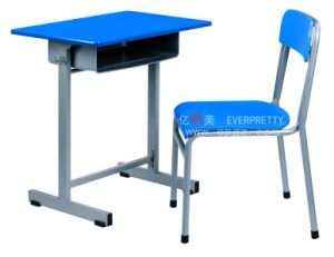 School Classroom Single Student Table Desk and Chair Set SF-35F pictures & photos