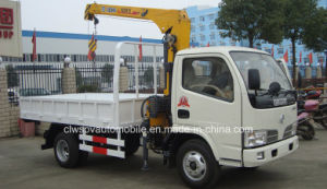 6 Wheels Truck Mounted with XCMG Crane 4t Crane Truck 5t Price pictures & photos