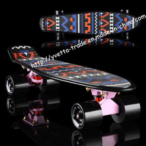 Skateboard with Griptape Design (YVP-2206-4) pictures & photos