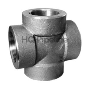 A105 Forged Steel Pipe Fittings/Thread Cross