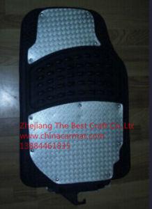 (Bt 1402) Chorme Mat/Metal Car Mat/3PCS Car Floor Mat pictures & photos