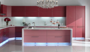 Lacquer Door High Gloss Kitchen Cabinet (zz-068) pictures & photos