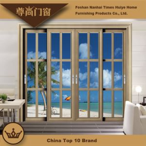 Lace Bar Single Grinded Edge Glass Panel Interior House Decoration Aluminum Alloy Sliding Door pictures & photos