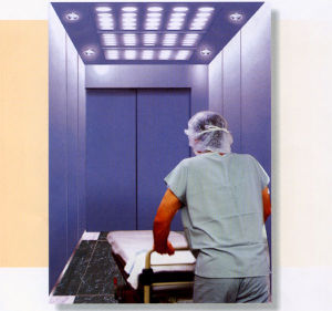 Gearless Machine for Hospital Elevator pictures & photos