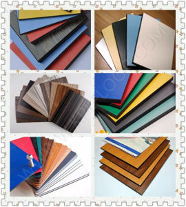 Wall Panel HPL Exterior Wood Grain Colors pictures & photos