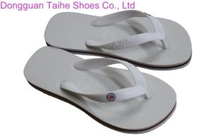 White Beach Flip Flop Slippers pictures & photos