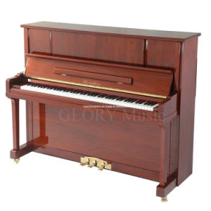 Walnut Polish Upright Piano (HU-123WA) pictures & photos