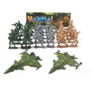 New Mini Plastic Military Set Toys with Solider and Plane (10211089) pictures & photos