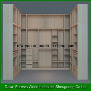 1-4 Doors Melamine Particle Board Wardrobe pictures & photos