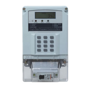 OEM Offered Single Phase Sts Pinpad Prepayment Electronic Meter pictures & photos
