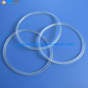 FDA Silicone Transparent Rubber O Rings pictures & photos