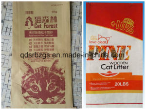 Colorful Printed Paper PP Woven Cat Litter Bag/Sack pictures & photos