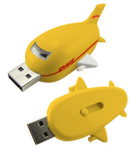 Plastic Plane USB Pendrive Disk Airplane USB Flash Memory pictures & photos