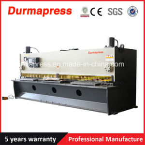 Durmapress QC11y 16X6000 Hydraulic Guillotine Sheet Metal Cutting Machine pictures & photos