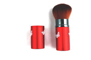 Combinatorial Scaleable Red Color Nylon Hair Blusher Brush for Makeup (D-5)