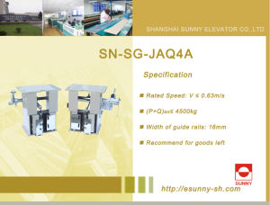 Elevator Parts Safety Gear (SN-SG-JAQ4A) pictures & photos