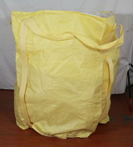Yellow PP Big Jumbo Bag with Top Duffle pictures & photos