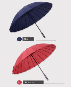 27 Inch Manually Long Umbrella pictures & photos