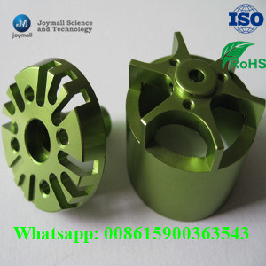 Custom Small Motor Aluminum Shell with Powder Coating Surface pictures & photos