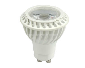 New Thermal Plastic 5W COB High Power GU10 LED Spotlight pictures & photos