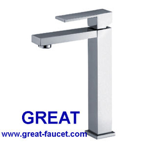 Tall Design Bathroom Basin Faucet 25mm Cartridge pictures & photos