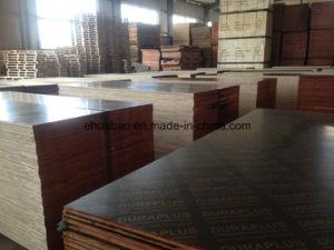 Korinplex Film Faced Plywood Poplar Core Brown Film WBP Glue pictures & photos