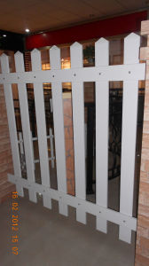 High Quality Customized Galvanised Garden Aluminum Fence pictures & photos