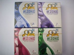 OEM Fashion Design Classic Ribbed Dotted Condom with Ce& FDA pictures & photos