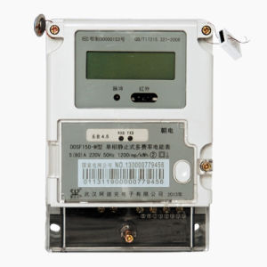 Single Phase Fee Control Smart Electrical Meter with Carrier Module pictures & photos