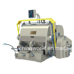 Plastic Creasing and Die Cutting Machine pictures & photos