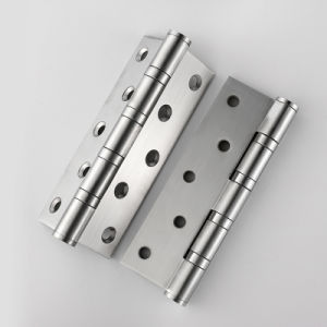 Heavy Duty Architectural Hardware Door Hinge in Satin Stainless Steel pictures & photos