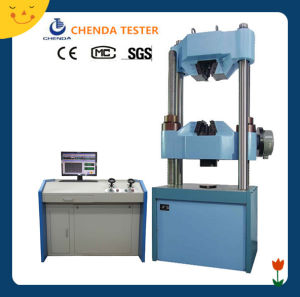 Computer Servo Control Hydraulic Universal Testing Machine Worm Gear System pictures & photos