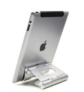 "New Aluminium Metal Desk Stand Holder Mount for Apple iPad 2 3 4 5 Air Mini for iPhone 4S 5s Tablet PC 3.5-14"" Universal Stand (dxs-2) pictures & photos"