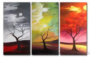 Modern Abstract Art Landscape Oil Painting on Canvas for Home Decor (LA3-034) pictures & photos