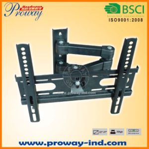 Full Motion TV Wall Mount with Swivel Articulating Arm pictures & photos