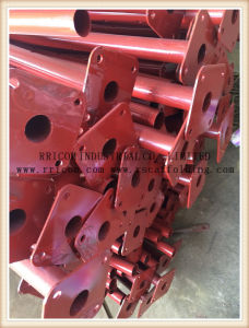 Red Painting Scaffolding Post Shoring pictures & photos