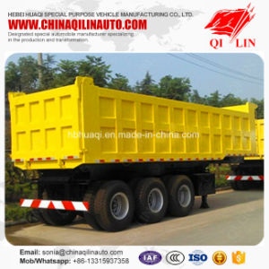Cheap Price Heavy Load 30FT Mining Dump Semi Trailer pictures & photos