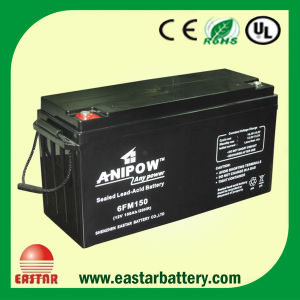 12V Solar Deep Cycle Gel Battery Sealed Lead Acid Battery UPS Storage Battery VRLA Battery AGM Battery 150ah pictures & photos
