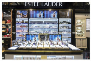 Customized Acrylic Cosmetic Display Showcase, New Cosmtic Kiosk pictures & photos