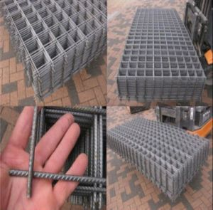 6X6 Welded Concrete Reinforcement Mesh/Brc Welded Mesh Panel pictures & photos