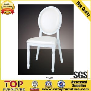 Metal White Wedding Chair (Stackable) pictures & photos